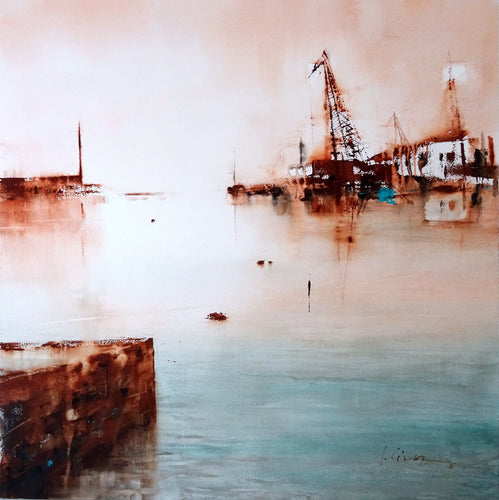 """Abandonment"" By Luis Camara, Watercolor on Hot Pressed Paper"