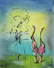 Tall Geese by Mary Bechtol