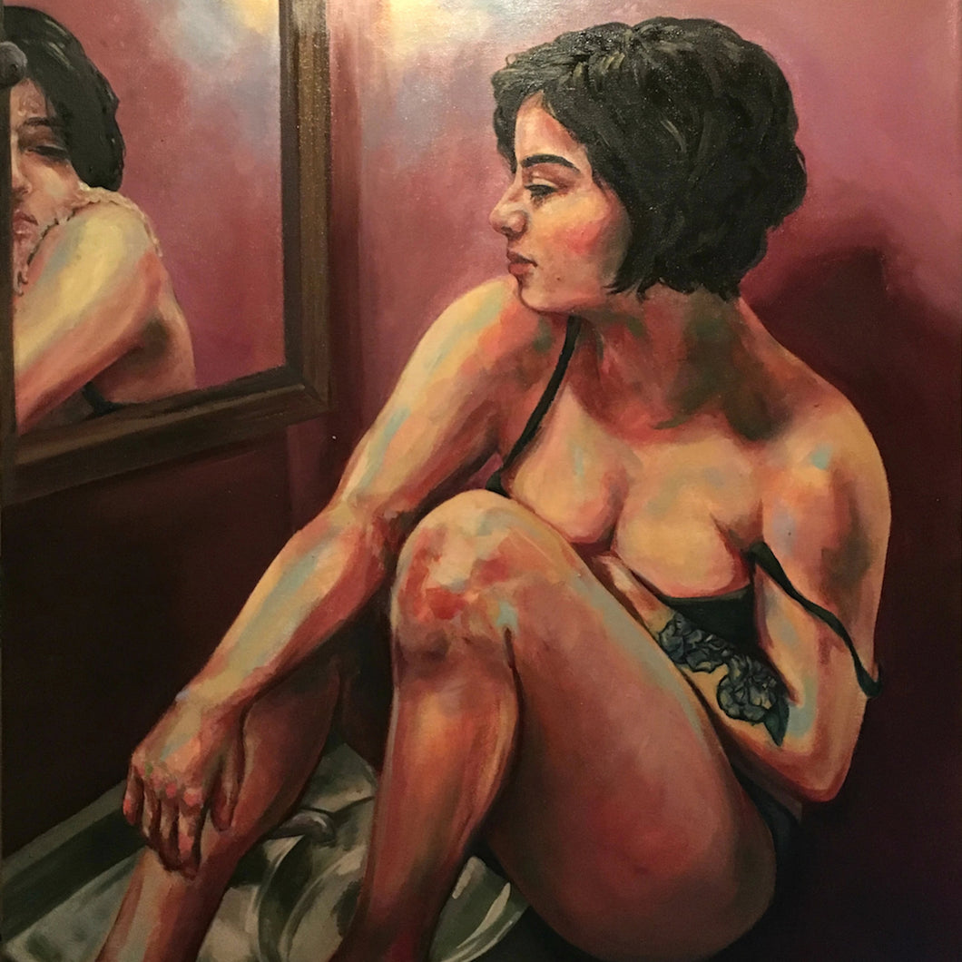 Melting by Amanda Lester, Oil on Canvas