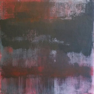 """Malignant"" By Nectaria Hatzipetrou, Acrylic on Canvas (Pure Cotton)"