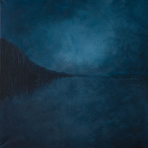 Northern Blues by Anni Thorn, Acrylic on Canvas