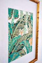 Palm Jungle I by Brittany Ford, Thermographic Embossing and Gouache Paint