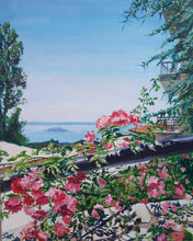 Parthenonas, Turtle Island View by Tatyana Strokova, Acrylic on Canvas