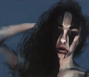 Portrait of Olivia by Marc Ouellette, Oil on Canvas