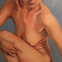 Reclination by Amanda Lester, Oil on Canvas