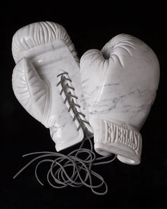 Gloves -Marble Stone Sculpture by Robin Antar