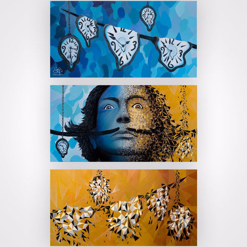 Dali By Sabrina Beretta, Acrylic On Canvas