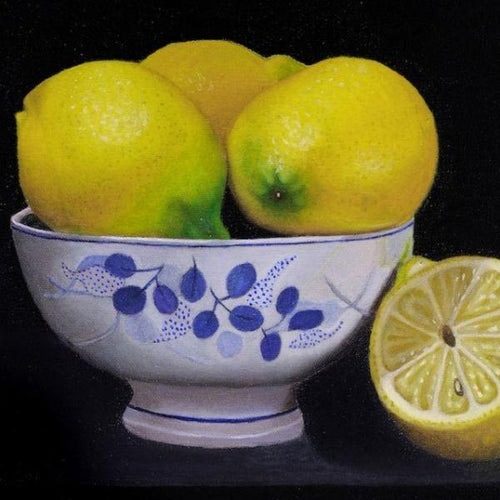 Lemons In a Bowl by Sarasvathy TK