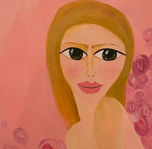 """Rosie"" By Ariana Gold, Acrylic on Canvas"