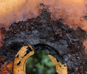"""Rust Eye""  By Evan Plunkett, Archival Photographic Print"
