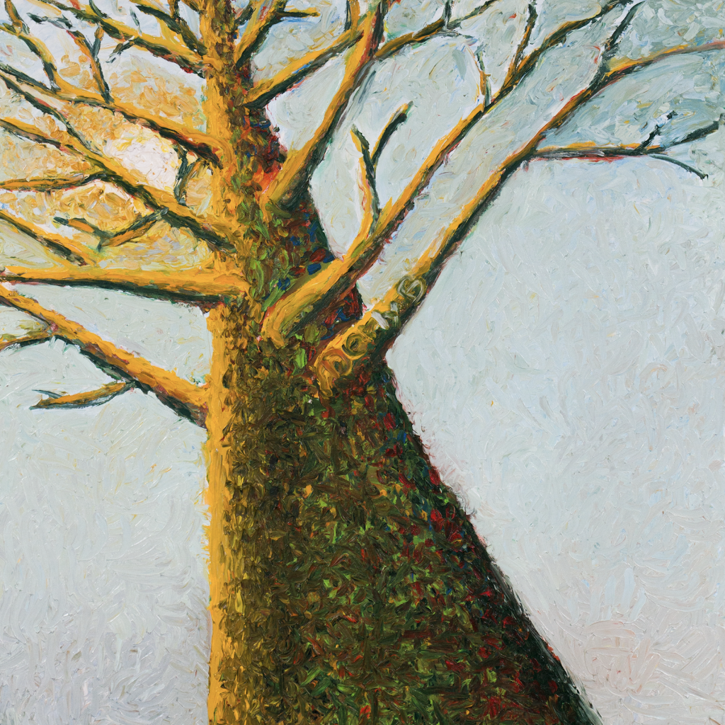 Immortal Tree by Derly Bellini, Oil on Canvas