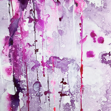 Purple Haze by William Witenberg, Watercolor on Paper (Framed)