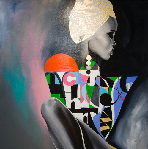 Ava by Chance Watt, Acrylic on Canvas