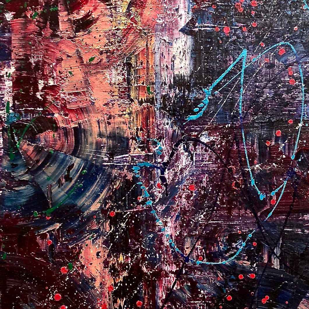 Amalgamation & Capital by Alex Sobolta, Oil on Canvas