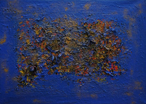 Blu by Sara Repetto, Acrylic on Canvas