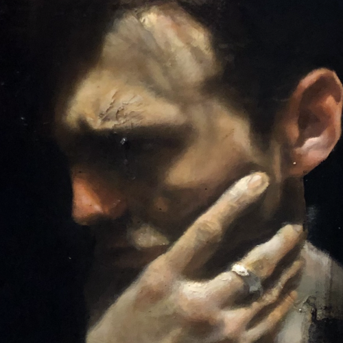 Contemplating by Kyle Torney, Oil on Canvas