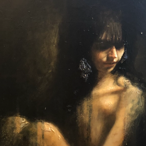The Philosopher's Muse by Kyle Torney, Oil on Canvas Board