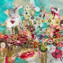 Te Amo Buenos Aires by Maria Marta Crespo, Mixed Media on Canvas