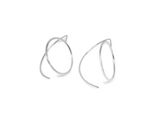 Earrings by Lisa Lesunja, Silver 925 Polished (7582)