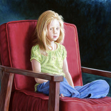Portrait Briana by Eduardo Santiago, Pastel on Paper