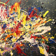 """Splash"" By Nicklas Kristiansen, Acrylic on Canvas"