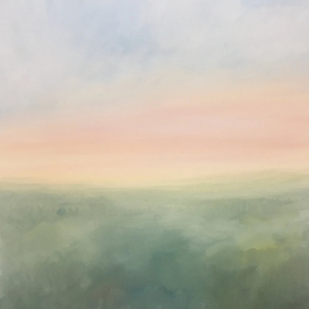 Sunset by Deena Youngs, Acrylic on Canvas