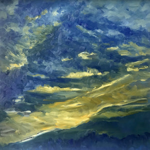 Kiss the Sky by Susan McKenna List, Oil on Canvas