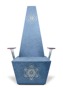 Sacred Geometry Throne by Thomas Lancaster