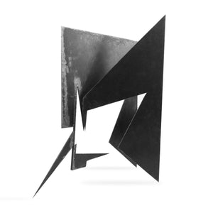 Hei by Alejandro Dron, Steel Sculpture