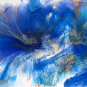 Vortex by Dani B, Acrylic and Resin on Canvas