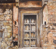 Warm Abode by Abha Rani Singh, Oil on Canvas