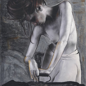 Woman Ironing by Michael Francis, Archival Quality Fine Art Print