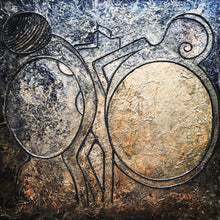 Yin and Yang by Georgia Boyd, Mixed Media on Canvas