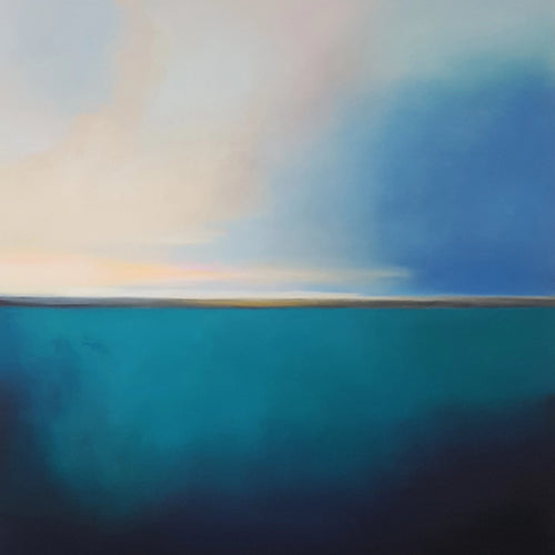 You are My Calmness by Larissa Uvarova, Oil on Canvas