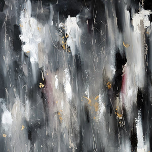 Alluring Screams by Thien Nguyen, Mixed Media on Canvas