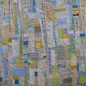 """Sand Between My Toes"" by Ann Baldwin May, Fiber, Art Quilt"