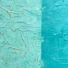 """ Turquoise"" by Jim Beuks, Oil on Canvas"