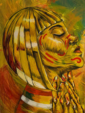 Cleopatra's Charm by Louis Komodo, Acrylic on Canvas