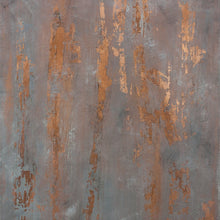 Copper Waterfall By Karla G Hinojosa, Mixed Media On Canvas