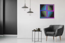 Dotted Abstract by Michael Chatman, Digital Print on Canvas