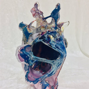 Heart of Glass by Carolyn Rogers, Blown Glass