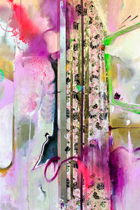 Lex Divina by Roland Rockwood, Mixed Media on Canvas