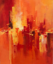 """Up's and Down's"" By Ravali Kavoori, Acrylic on Canvas"