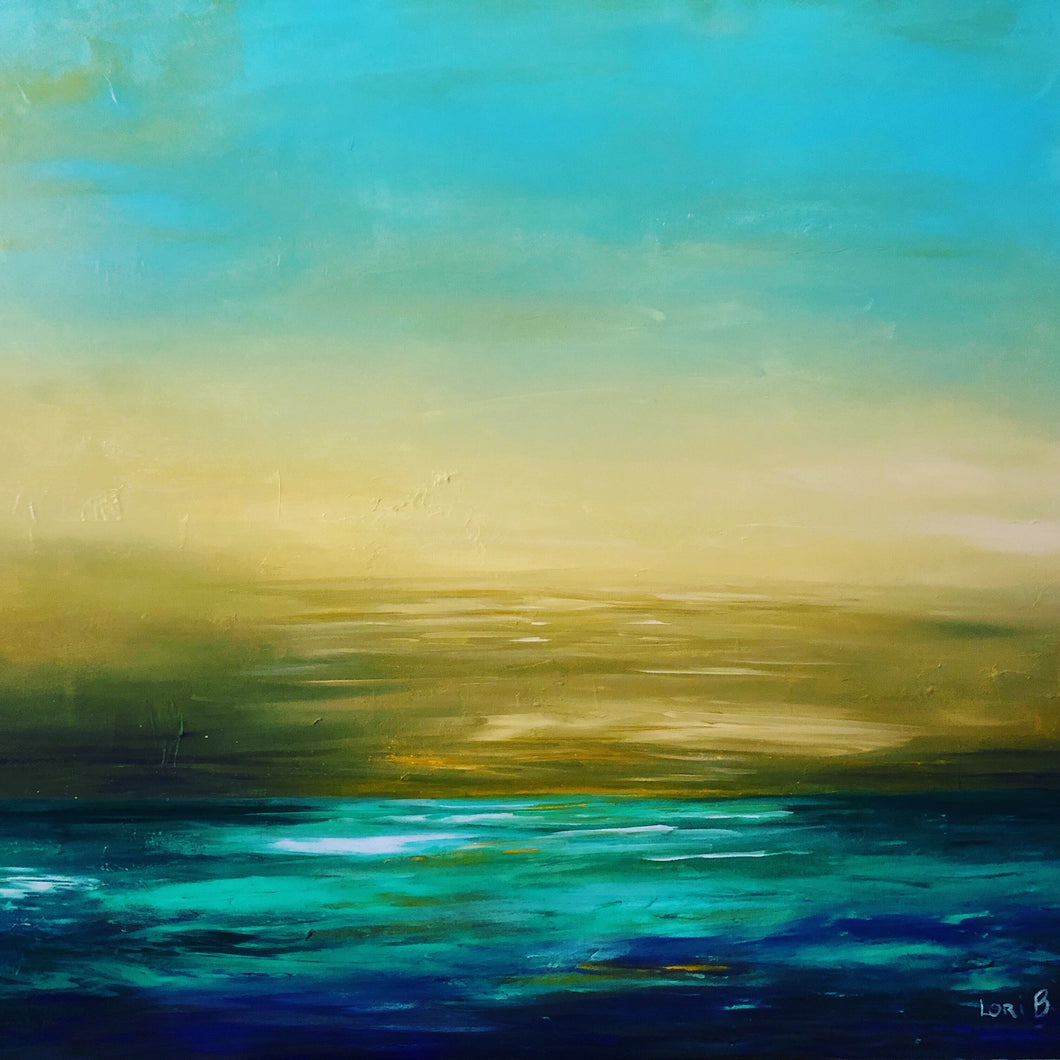 Calm Before the storm by Lori Burke, Acrylic on Canvas
