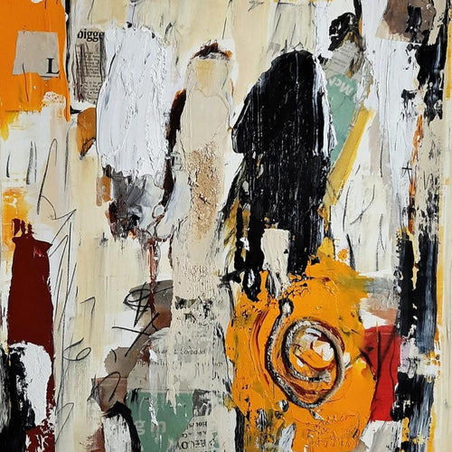 In Range by Ralph Turturro, Mixed Media on Paper