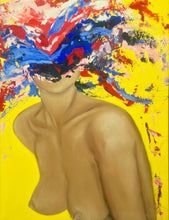 Nude But Not Naked 1 by Lamia Berrada, Acrylic on Canvas