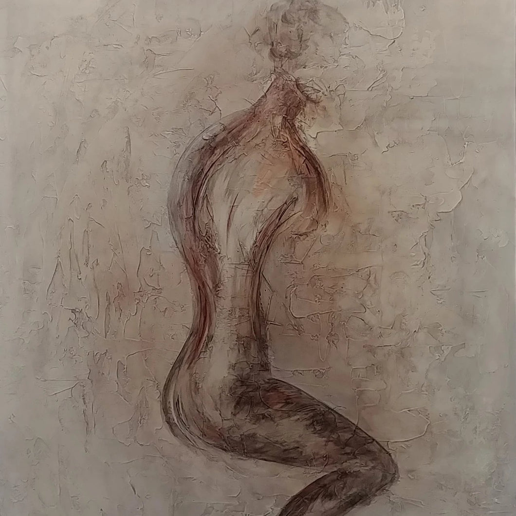 Essence of a Woman by Lisa Izquierdo, Mixed Media on Canvas