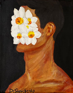 Narcissus by Daria Shevchenko, Acrylic on Canvas