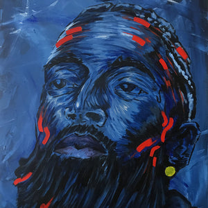 Nipsey's Hope by Louis Komodo, Acrylic on Canvas