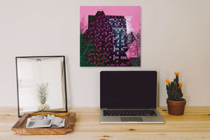 Pink Sky by LEXOVA, Photoprint on Aluminum